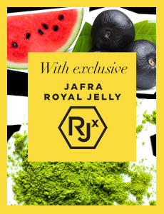 Skin Gets a Nutritious Boost with Superfoods and Royal Jelly RJx