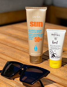 Yes, you DO still need to wear SPF while at home…