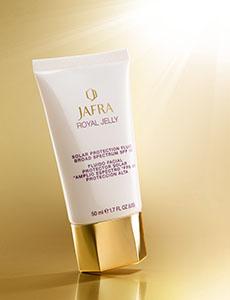 Producto destacado: JAFRA Royal Jelly Solar Protection Fluid SPF 50