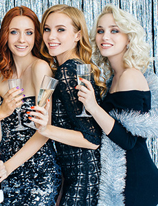 Dress Up Your LBD for the Holidays